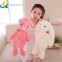 New design best sale good quality funny plush long ear rabbit toy