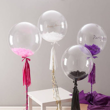 Party favor <span class=keywords><strong>personalisierte</strong></span> DIY transparent heliumballons günstige