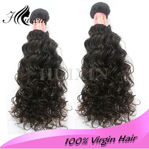Fashionable Gold supplier high grade wet and wavy clip in hair extensions