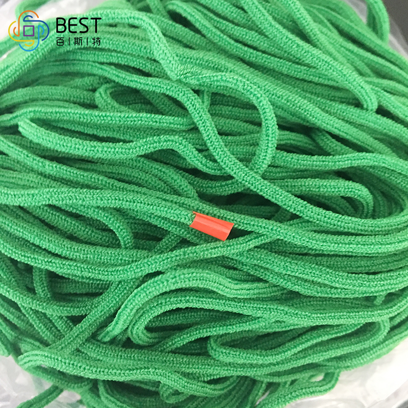 High Quality 3 0mm Round Green Earloop Elastic Band For
