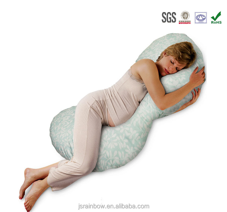 OEM custom made U shape multifunction protect pregnant woman pillow wholesale