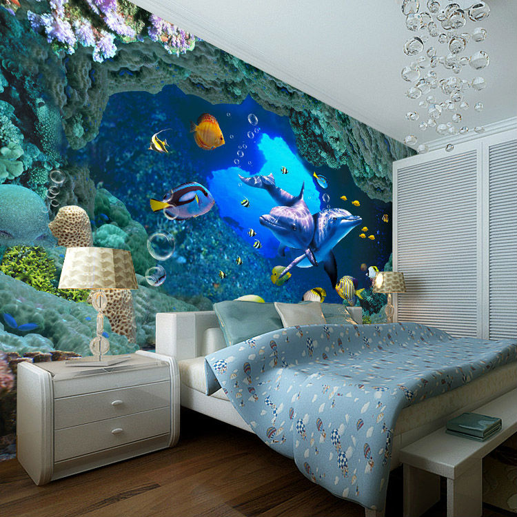 22 Awesome Themed Bedrooms That Every Kid Would Love  Underwater Bedroom Decorations