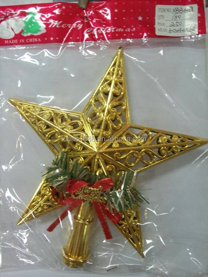 Hottest Christmas Ornament outdoor and indoor Christmas Hanging Decoration For Five-pointed Star
