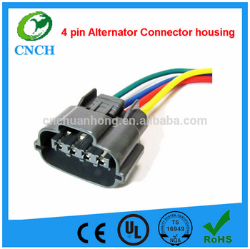 4 Pin Hitachi Mitsubishi Alternator Repair Connector_350x350 4 pin hitachi mitsubishi alternator repair connector 3 or 4 wire