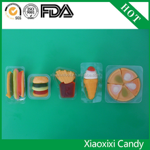 FDA BRC Certification and Fruity Flavor fast food gummy candy