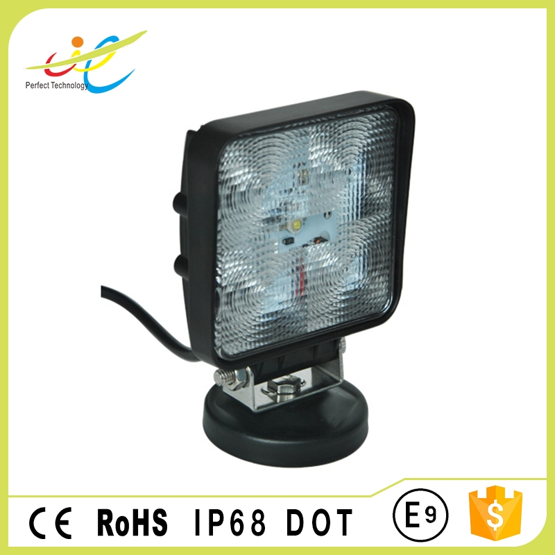 4inch 15W portable offroad led driving light for car head