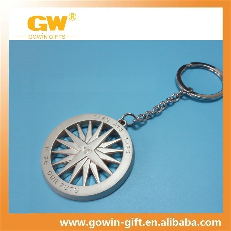 Custom enamel metal steering wheel key holder