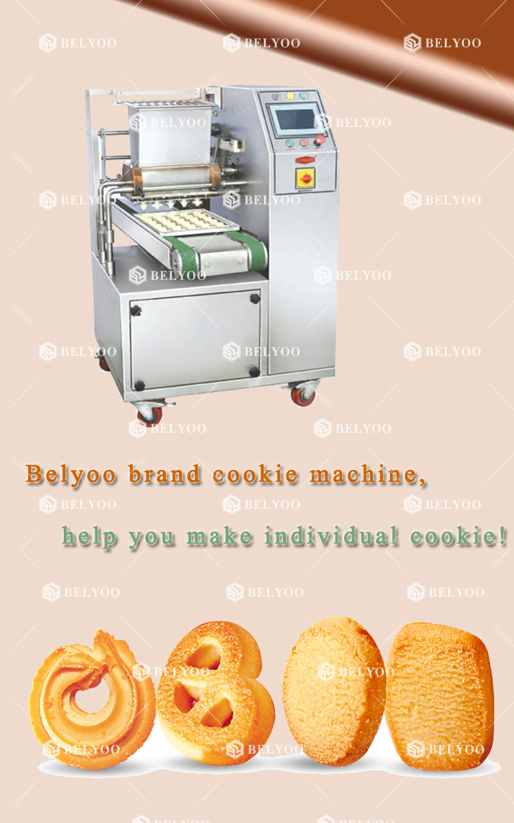 300pcs/min Chocolate drop cookie gluten-free cookie machine instead of scooper