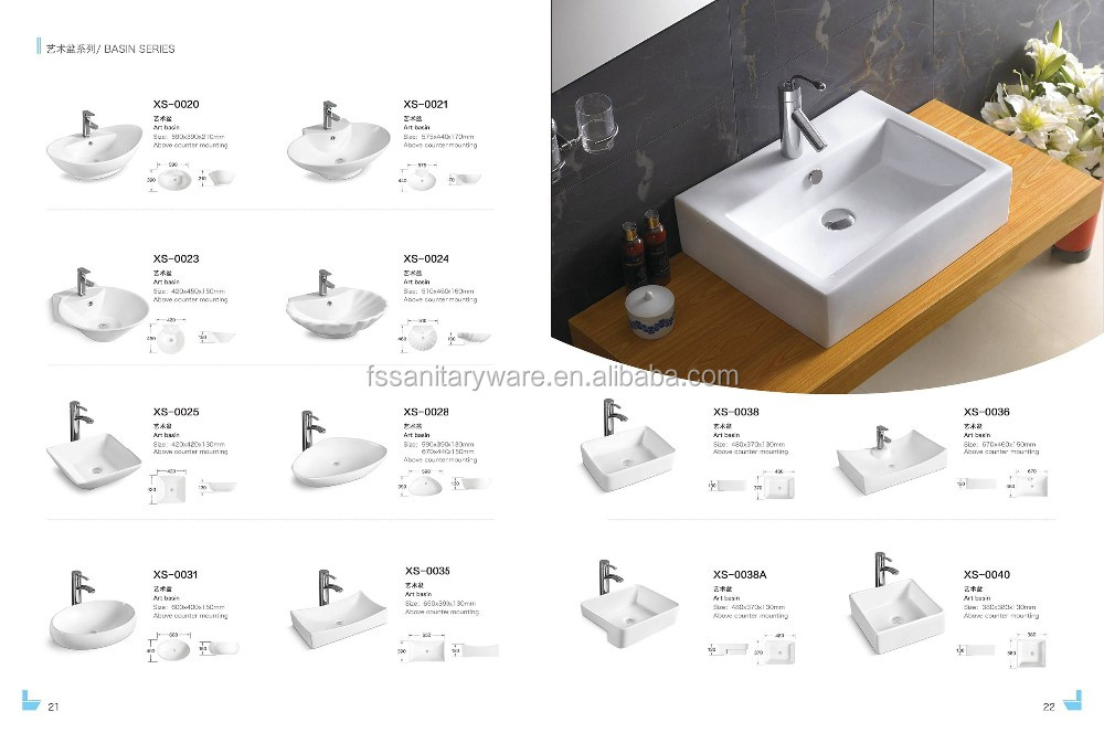 wholesale bathroom color art basin,types of lavatory ceramic  sink,philippines basin, View philippines small basin, YIDA Product Details  from Chaozhou