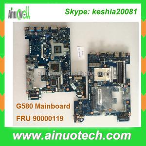 FRU 90000119 Laptop mainboard for Lenovo G580 Motherboard QIWG6 MB W8 DIS  N14M-GL 1G ( FRU 9000235) system board motherboard