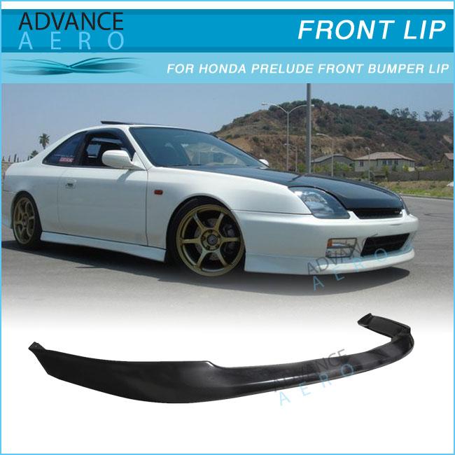 For 97-01 Honda Prelude Oe Style Opt Pu Front Bumper Lip Spoiler ...