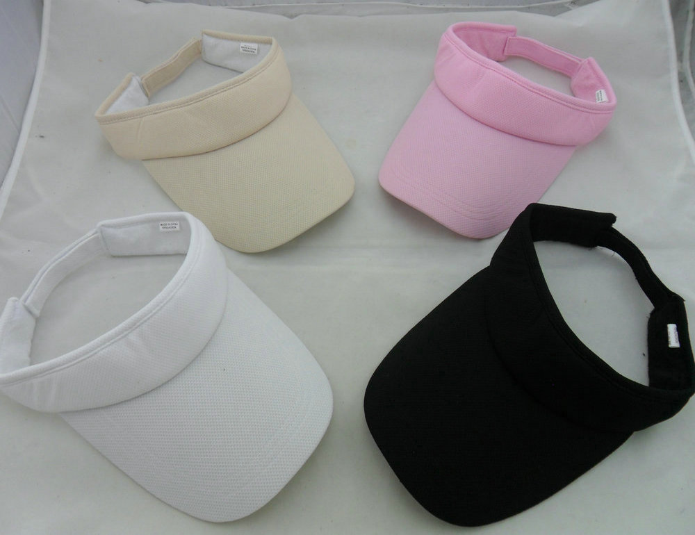 Custom Heavy Cotton Twill Visor Hats
