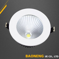 50000 Hours Lifespan Durable LED Downlight Ra above 80 E27 7W With SAA CE