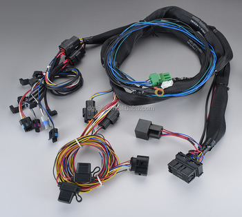 chassis harness cng/lpg engine wiring harness kit custom assembly