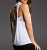 wholesale women sexy gym blank drop armhole loose fit tank top