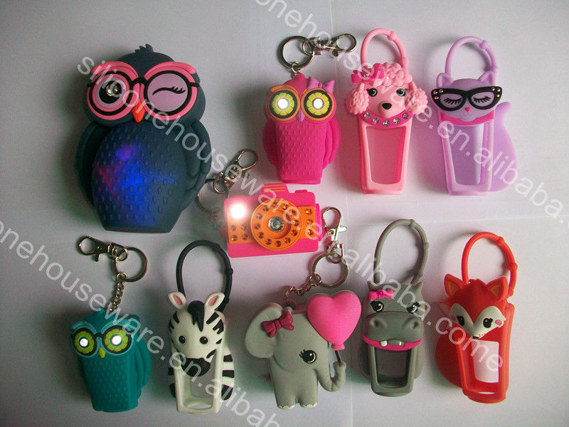 Newest Animal 3d Hand Sanitizer Pocketbac Holder Bbw For Your Hand