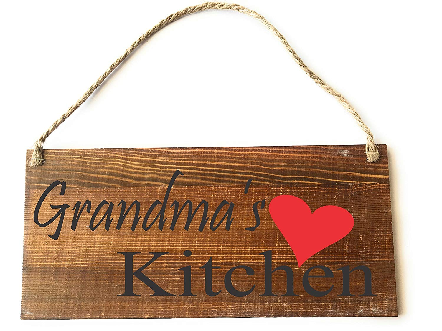 CUSTOM HANDMADE PERSONALIZED SIGNS, GRANDMA'S KITCHEN, RUSTIC, COUNTRY WOODEN SIGN, BIRTHDAY GIFT, MOTHER'S DAY GIFT, by Heartland Country Decor