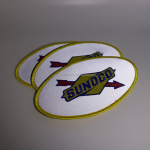 Custom Made Reflective Embroidered Safety Patches for Clothes and Garment