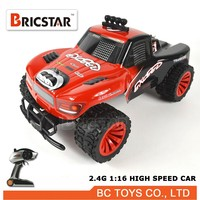 Hot model 1:16 4x4 rc toy car, monster truck rc scale model trucks with 20KM/H speed
