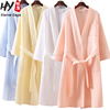 New design bath robe with belts by factory price for wholesales