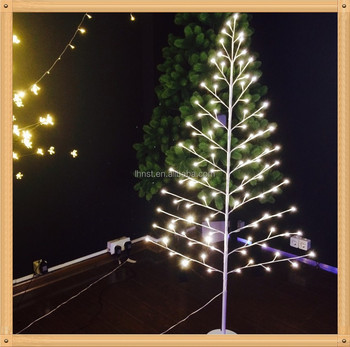 2017 new product artificial led christmas maple tree light 18m christmas trees warm white or