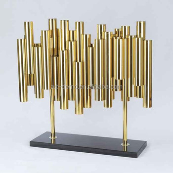Ancy high quality stainless steel home decor sculpture for Quality home decor