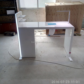 Glossy Finished Nail Table,Cheap Manicure Tables For Sale - Buy ...