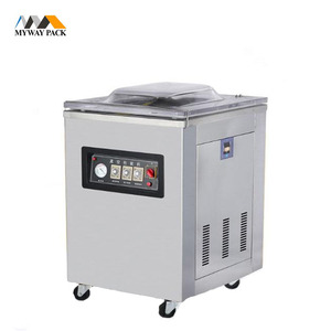 Factory supply Mini Double chamber vacuum packing machine DZ-260 for meat,beef,sea