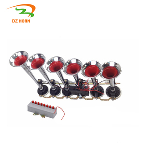 DZ HORN Electric air horn pakistan 6 pipe 8 sound melody music air horn