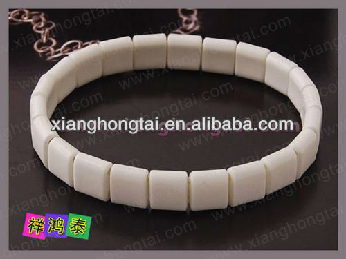 volcanic stone scalar energy bangles supperlier made in china