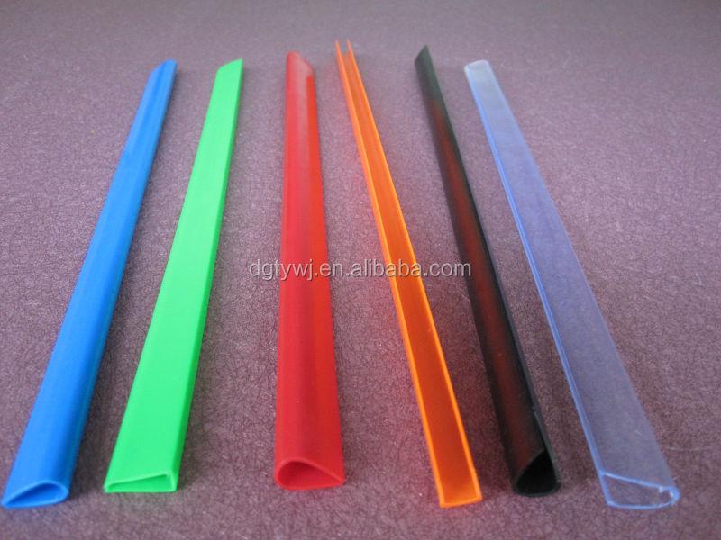 Kunststof pvc materiaal slide bindmiddel bar voor a4 - Material para bares ...
