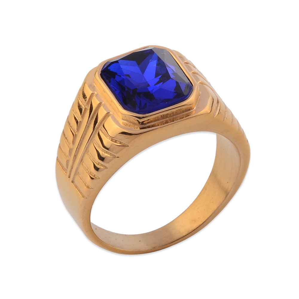 ring mens zircon fashion item rose cubic womens unna ladies gold plated red rings jewelry fj stone color