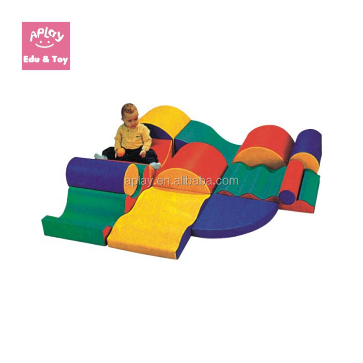Soft Play Climbing and Sliding toy Set soft indoor kids play area