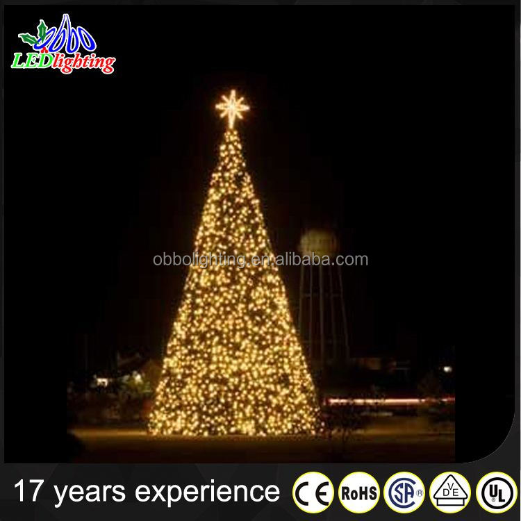 chinese christmas tree decoration artificial giant waterproof IP65
