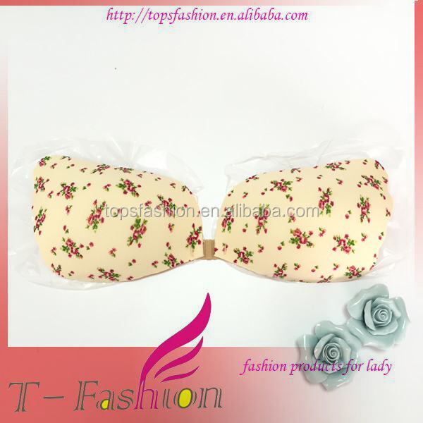 dbfbce3857 Push-Up Strapless Backless Self-Adhesive Gel Magic Stick Invisible Silicone  Bra