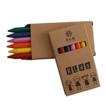 scatola di colore set 6 pack bambini disegno <span class=keywords><strong>pastelli</strong></span>