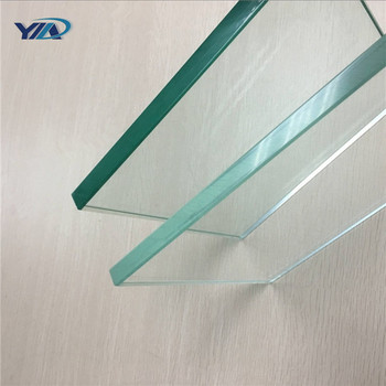 Blue Table Top Windows Tempered Glass Support