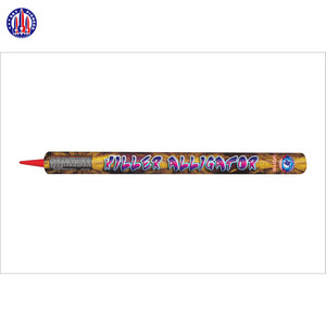 High quality SP2111B Killer Alligator firecrackers roman candle fireworks