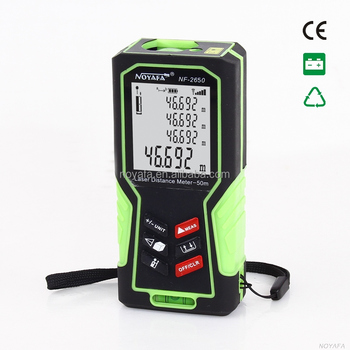 Hand-held Laser Distance Meter with Distance & Angle Measurement , Area & Volume laser distance measure