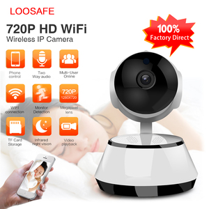 2018 Promotion Cheapest Smallest 1.0MP Wireless Security Camera 720P Night vision Wifi CCTV Camera