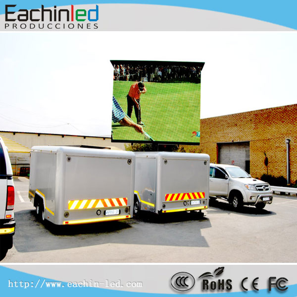 P8 Digital Billboard Truck Mobile Led Display P6 SMD Led Mobile Advertising Trucks for Sale RGB Mobile Led Screen Truck