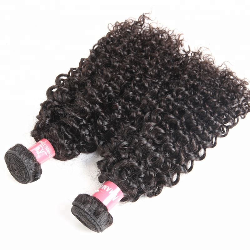 Cheap And High Quality Wholesale Hair Extension Jerry Curly Human Hair Indian Bundles For Black Women, N/a