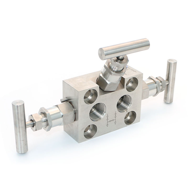 3 way valve manifold