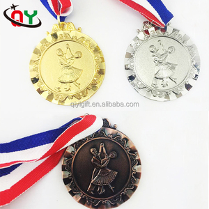 Good Quality Fast Delivery Custom Souvenir Dancing Medals Sports Ribbon Medal