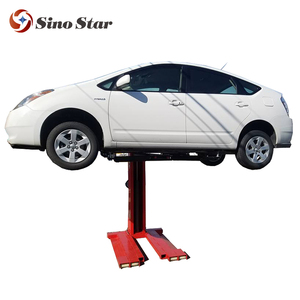 2018 hot sale CE Certificated used single post car lift/hydraulic auto lift for wash 220V car lift(SS-6125E)