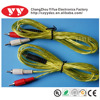 hot sale high quality vga 2rca cable to 3.5mm stereo
