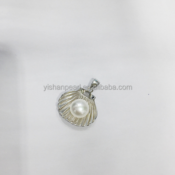 2017 New Wholesale Beautiful Styles 925 Sterling Pendant parts for Pearls Accessories Hot Sales