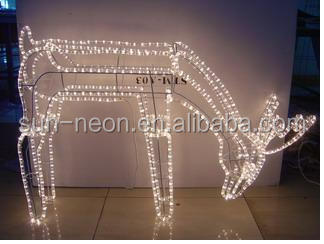 Outdoor commercial holiday time led rope light reindeer buy rope outdoor commercial holiday time led rope light reindeer aloadofball Gallery