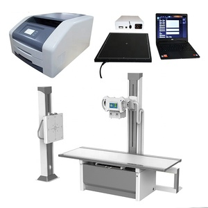 Factory cheap price High frequency 500mA 50kV digital chest x ray machine with bed type MSLHX04 for medical diagnosis