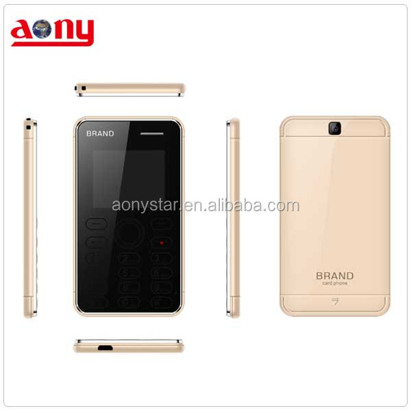 cheap mini mobile phone card size basic feature phone shenzhen manufacture